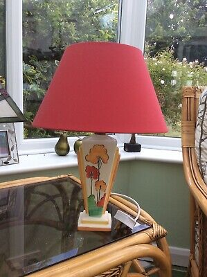 Clarice Cliff Art Deco Table Lamp  • 45£