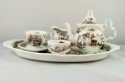 Royal Doulton Brambly Hedge Miniature China Tea Service With Summer Tea Cup • 31£