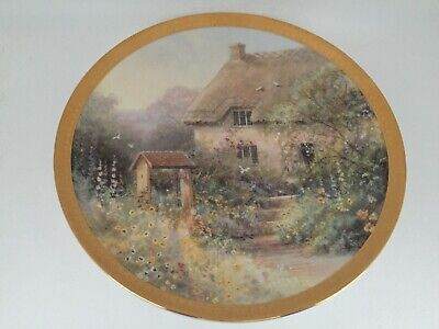 WISHING WELL LANE ~ ROYAL DOULTON LIMITED EDITION PLATE By HILARY SCOFFIELD • 7.95£