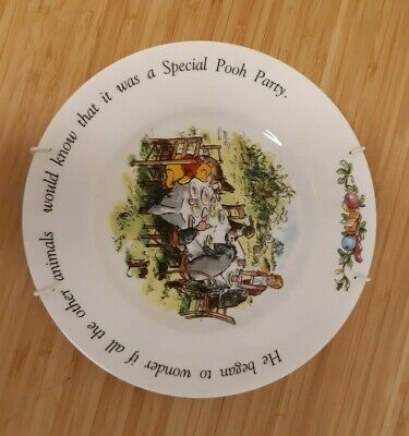 Royal Doulton Winnie The Pooh Plate 8  • 7.99£