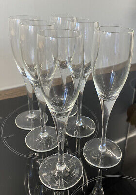 Villeroy And Boch Champagne Flutes 6 Pcs • 18£