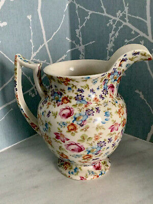 LORD NELSON WARE Floral Design Jug Large Excellent Condition • 25£