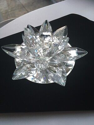 Crystal Prism Lily Candle Holder • 10£