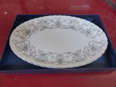 Bone China Tray/plate,h T Hostess Tableware,english,dining • 2.99£
