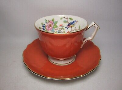 Aynsley Pembroke ~ Cabinet Tea Cup & Saucer In Very Good Condition • 23.50£