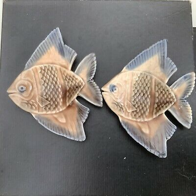 Wade England Fish Pin Trinket Dishes  X 2 • 1£