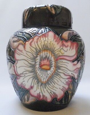 Moorcroft Gustavia Augusta Ginger Jar - 1st Quality - Boxed - Made In England • 134.99£