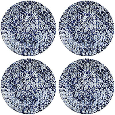 ROYAL WESSEX BY CHURCHILL VICTORIAN CALICO 4 X DINNER PLATES 25.5cm - NEW/UNUSED • 29£