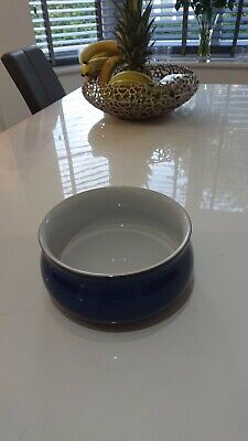 Denby Imperial Blue Lidded Casserole Dish 20cm (no Lid) • 6.60£