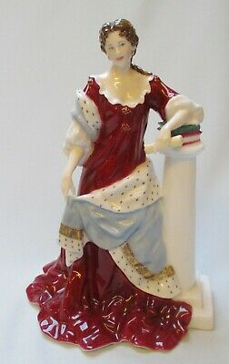 Royal Worcester Queen Anne Figurine - Model No. RW5007 - Limited Edition • 199.99£