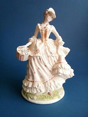 Royal Worcester Song Of Spring Follow The Sun Figurine CW413 • 20£