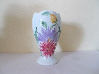 HANDPAINTED SIGNED E RADFORD FLORAL VASE No 978  CHINESE ASTER FLOWERS ? • 4.99£