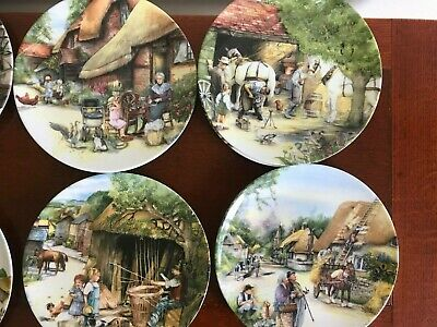 Royal Doulton - Old Country Crafts Plates - Susan Neale • 3£