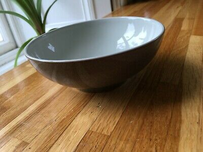 Denby Greystone Stoneware Large Cereal Bowl - New • 12£