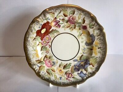 Hammersley QUEEN ANNE Hand Painted Flowers Bone China Side Plate • 20£