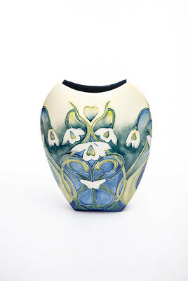 New Shape For 2020  Old Tupton Ware Tube Lined 12  Vase  SNOWDROP  1650 • 111.99£