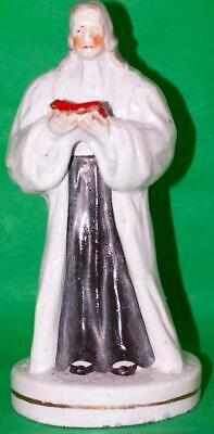Antique Staffordshire Pottery Figure Of Wesley • 106.25£