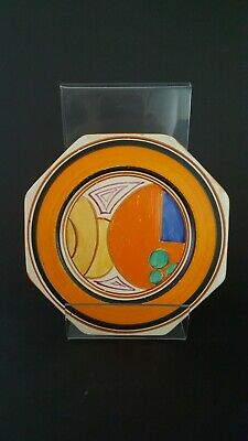Clarice Cliff  Octagonal Melons Plate C.1931 • 70£