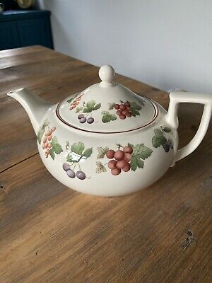 Wedgwood Queensware Provence Teapot • 9.50£