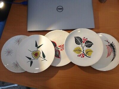Vintage 1950/60s Wade Side Plates X5 • 12£