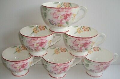 X6 Royal Albert Tea Cup (only) Decorated In The Ophelia Pattern.2nd • 12.99£
