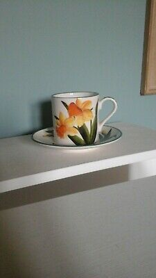 Wemyss Vintage Griselda Hill Pottery Scotland Small Cup & Saucer Daffodil  • 80£