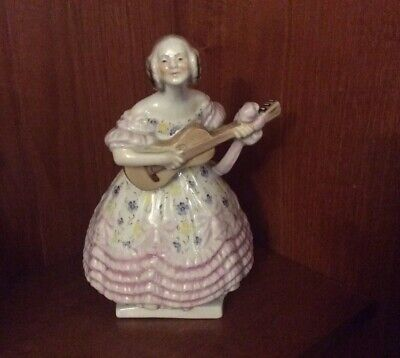 Herend Handpainted Figure Deryne Approx 21 Cms In Perfect Condition • 150£