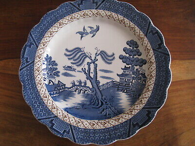 Lovely Vintage  Booths Real Old Willow  Dinner Plate Vgc  • 7.25£