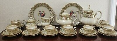 Beautiful Hutschenreuther Selb Bavaria Eight-place Tea & Coffee Set • 195£