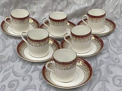 Vintage Royal Grafton Majestic Coffee Cups And Saucers 12 Pieces. • 9.99£