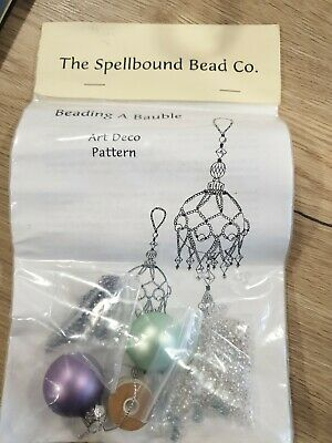 Spellbound Bead Co Beading A Bauble Art Deco Pattern • 7.50£