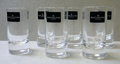 Dartington   6 Shot Glasses • 10£