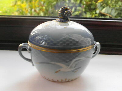 Bing Grondall Sea Gull Fine Porcelain Sugar Bowl And Lid Pattern Number 84 • 24.99£