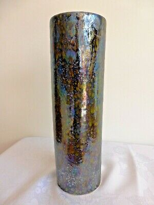 Anita Harris,1/1 Wonderful, Tall 27 Cms High Cylinder Vase With A Luster Finish • 54£