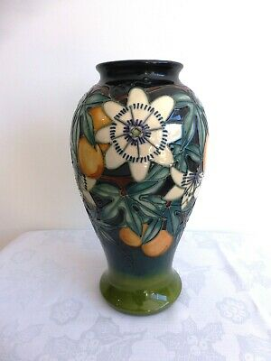 Moorcroft Superb 'Passion Fruit' 1999 Vase. Approx. 26cms Tall. 1st Quality. • 165£