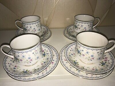 PARAGON Fine China  'FLORABELLA' Cups And Saucers 12 Pieces • 15£