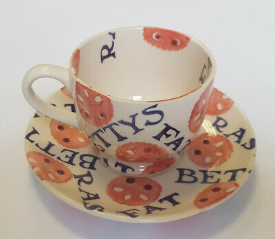 Emma Bridgewater Bettys Fat Rascal Coffee Cup And Saucer • 30£