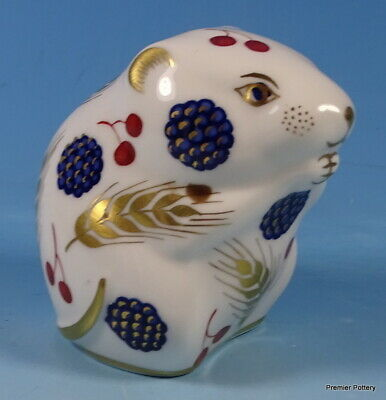 Royal Crown Derby Harvest Mouse Paperweight Figure • 22£