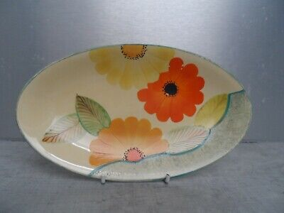 Grays Pottery Dish Hand Painted Art Deco In Vey Good Condition • 18£