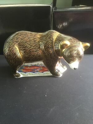 Royal Crown Derby Grizzly Bear  • 149.95£