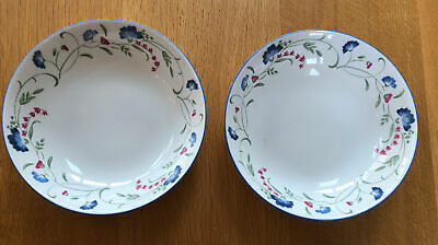 Royal-Doulton EXPRESSIONS WINDERMERE 2 X Bowl - Cereal, Pasta • 5£