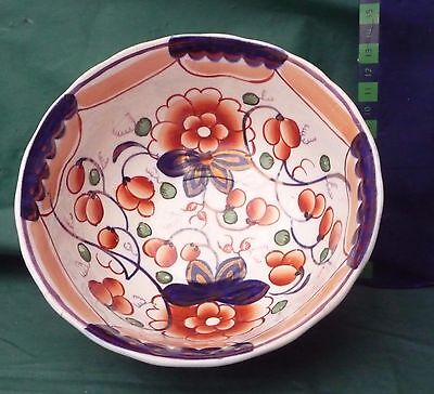 Gaudy Welsh Bowl C 1850 Antique Hand Painted Excellent Condition 2810 • 17.99£