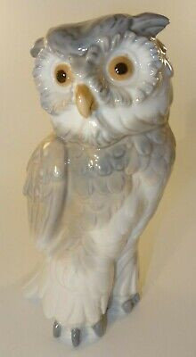 NAO By Lladro 17cm Owl Figurine 1980's Excellent  • 42.99£