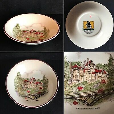 Vintage Gray's Pottery Bowl 'Cragside Victorian Country House Rothbury' 1948-61  • 14.99£