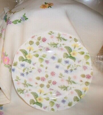 Queens China Country Meadow Vintage  8 Inch Plate  • 7.99£