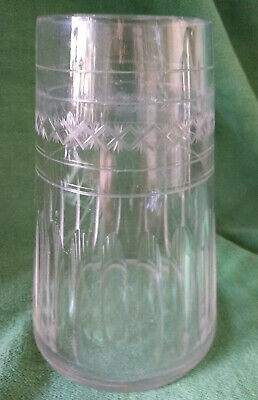 Vintage Cut Glass Tapered / Conical Vase  • 12.99£