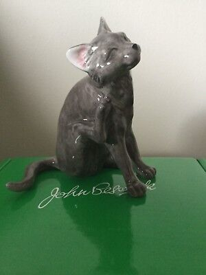 New & Boxed Beswick Short Haired Cat Scratching • 19£