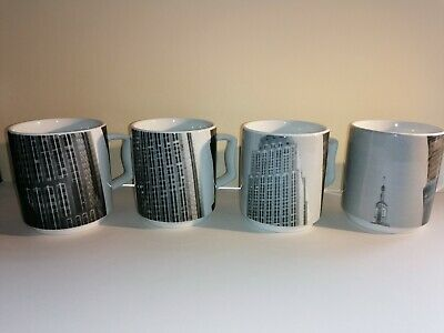 Andy Warhol Rosenthal Empire State Cups • 70£