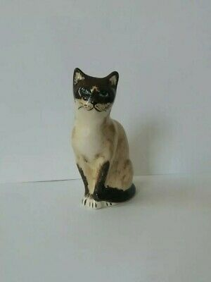 Babbacombe Pottery By Lownds Pateman -  Siamese Cat • 8.99£