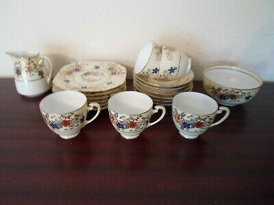 Antique, Noritake, Part Tea Set, 19 Pieces, Hand Painted , Used  • 10£